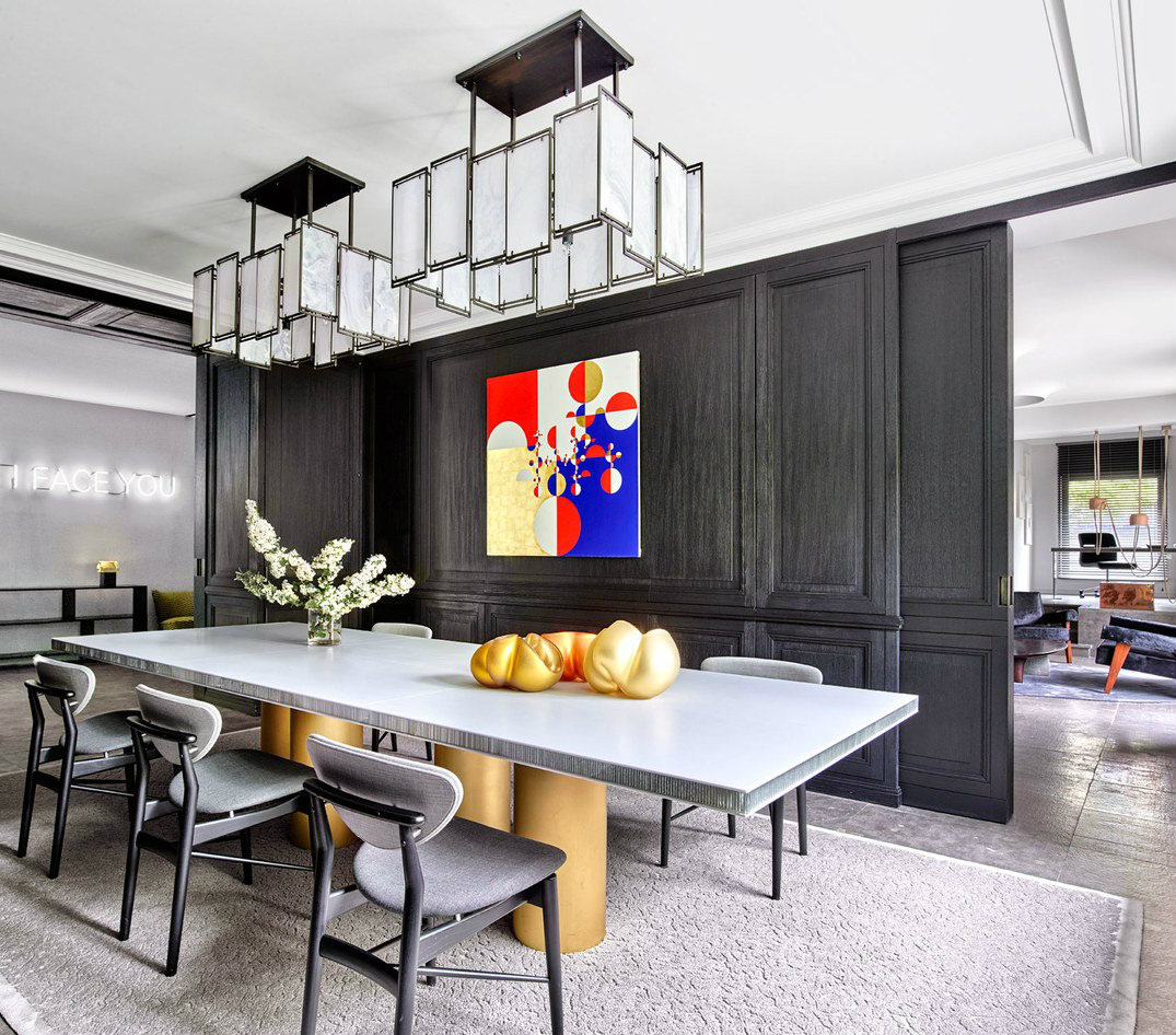 dining tables Stylish Dining Tables That Fit A Whole Family 60 Modern Dining Room Design Ideas9