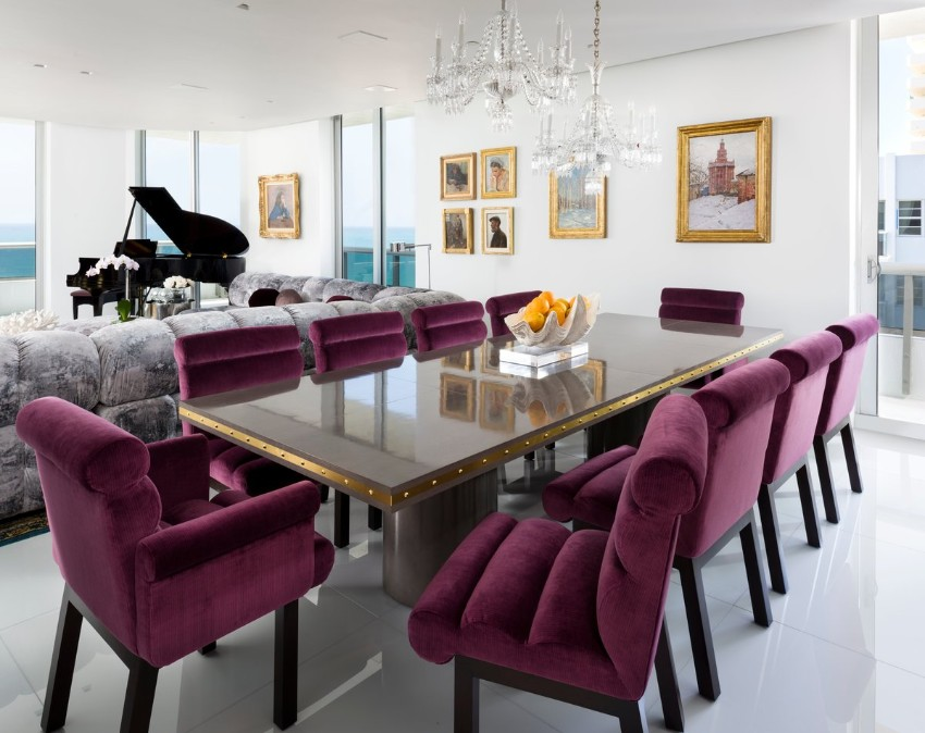 trendy tables Get Inspired By 10 Trendy Tables Contemporary Dining Room Ideas to Inspire You4