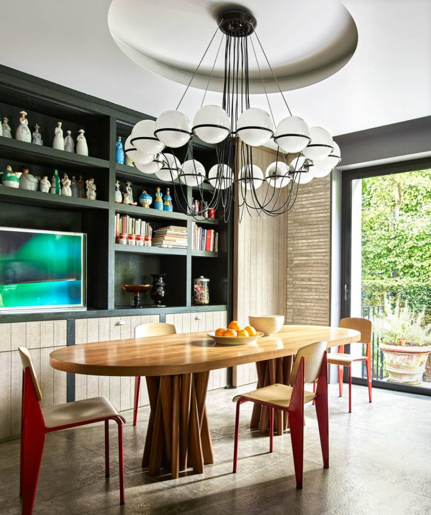 trendy tables Get Inspired By 10 Trendy Tables Contemporary Dining Room Ideas to Inspire You5