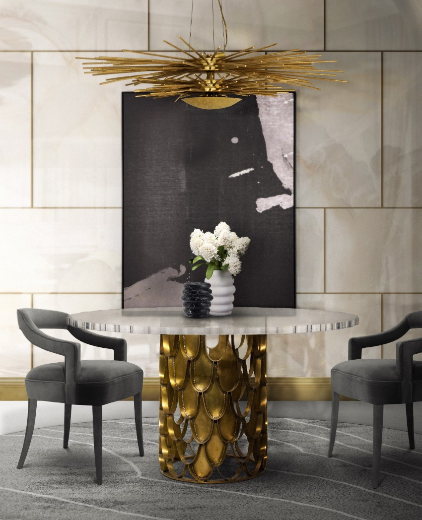 dining space designer tables Designer Tables For A Gorgeous Home Table Trends For Your Dining Tables 3