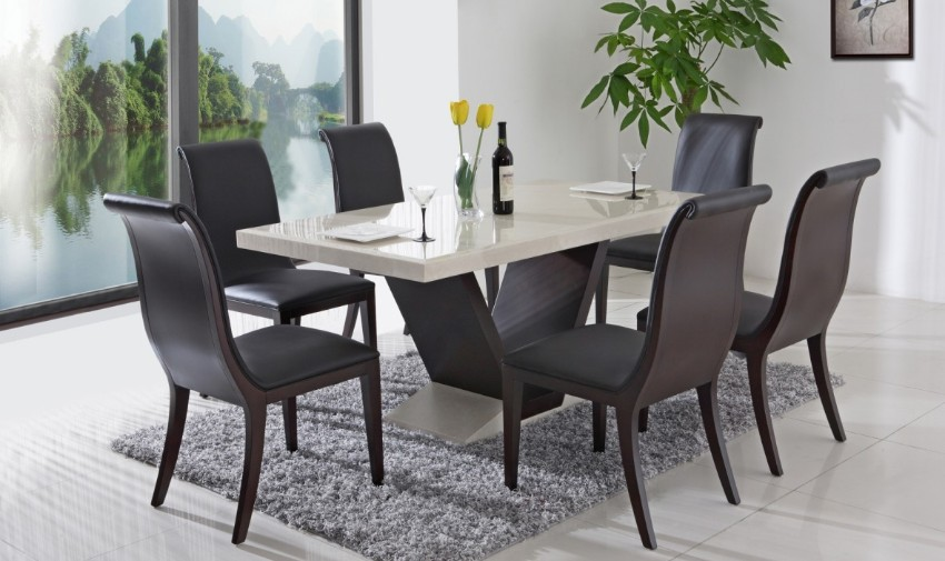 modern dining tables 10 Modern Dining Tables For Your Contemporary Living Room 10 Round Dining Tables to Create a Cozy and Modern Decor2 2
