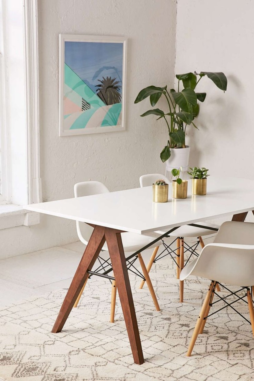 White dining tables The Brightest the Better: 10 White dining tables for your dining room 11