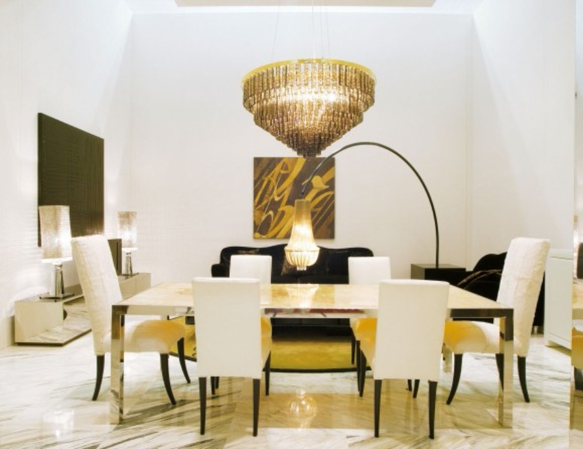 10 Metal Dining Tables for a Contemporary and Luxurious Dining Room