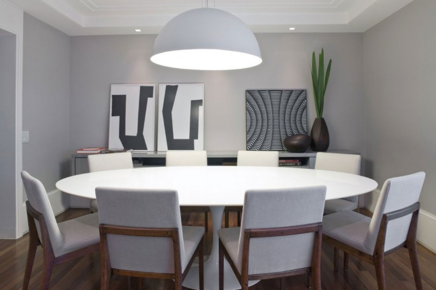 White dining tables The Brightest the Better: 10 White dining tables for your dining room 5
