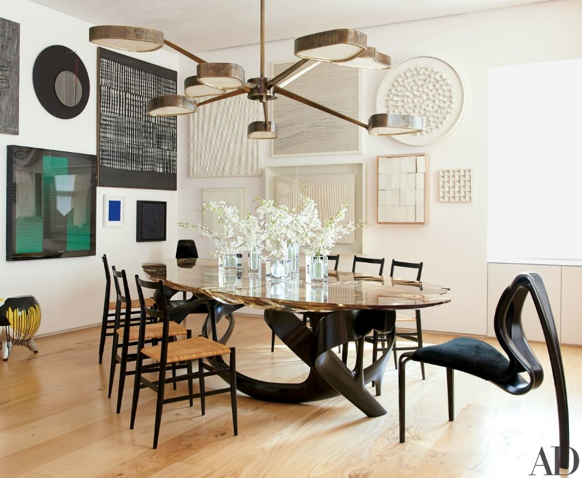 wood dining tables Wood dining tables for your contemporary dining room 60 Modern Dining Room Design Ideas3