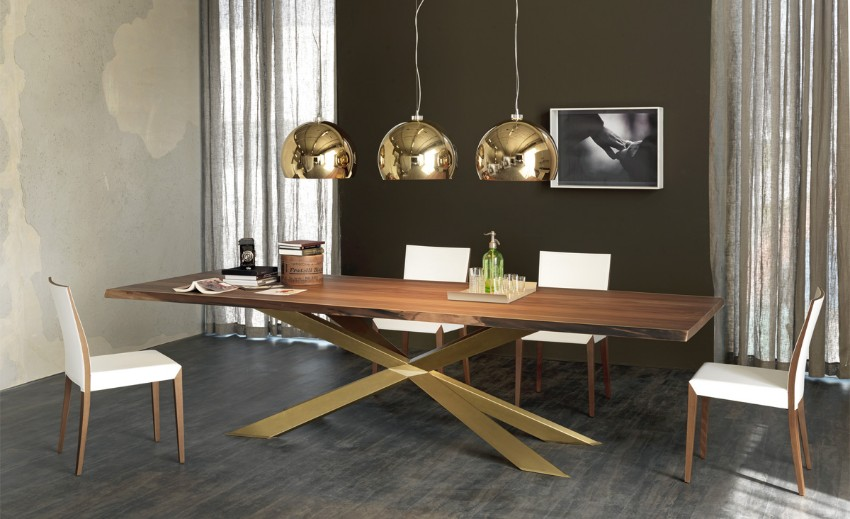 wood dining tables wood dining tables Wood dining tables for your contemporary dining room 60 Modern Dining Room Design Ideas4