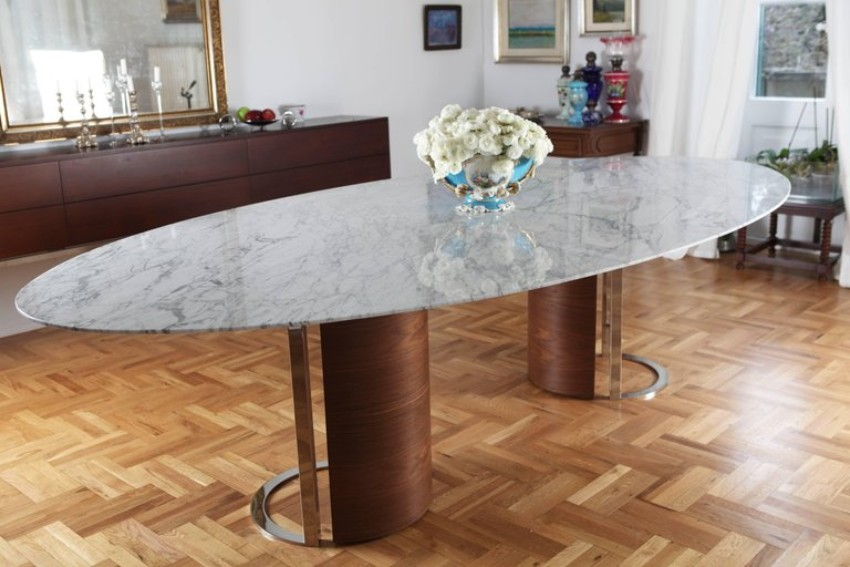 metal dining tables 10 Metal Dining Tables for a Contemporary and Luxurious Dining Room 7 10 Metal Dining Tables for a Contemporary and Luxurious Dining Room