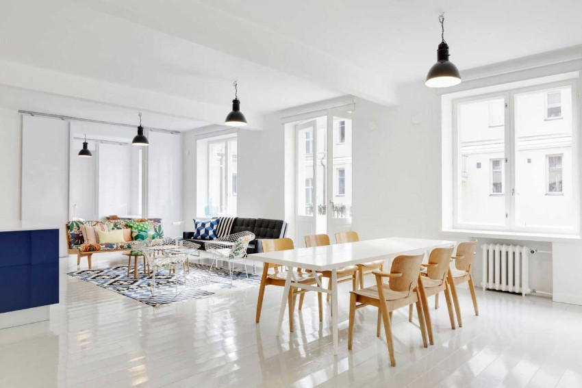 White dining tables The Brightest the Better: 10 White dining tables for your dining room 8