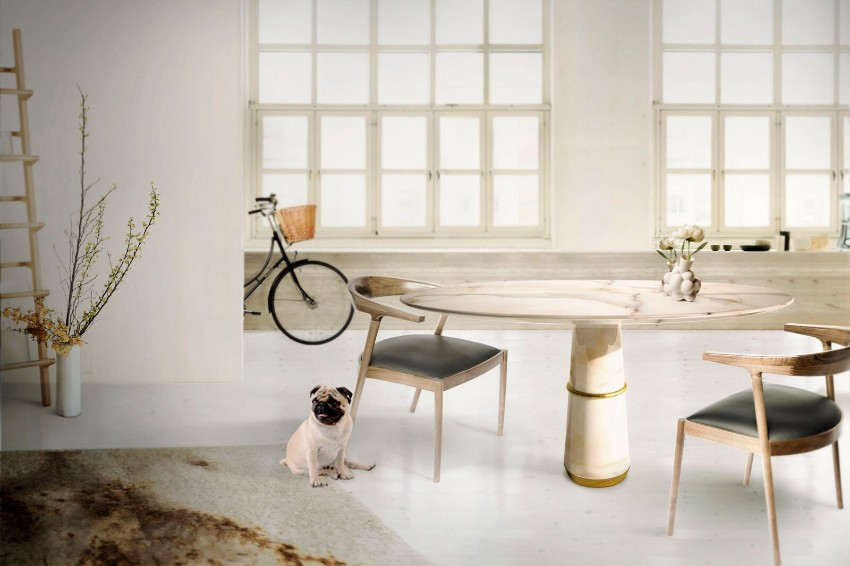 modern dining tables 10 Modern Dining Tables For Your Prevailing Living Room Contemporary Dining Room Ideas to Inspire You1