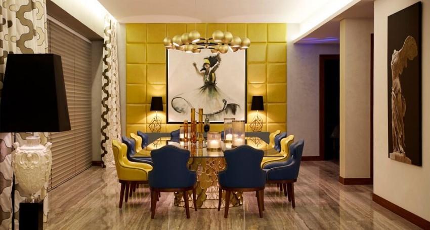 modern dining tables 10 Modern Dining Tables For Your Prevailing Living Room Contemporary Dining Room Ideas to Inspire You3