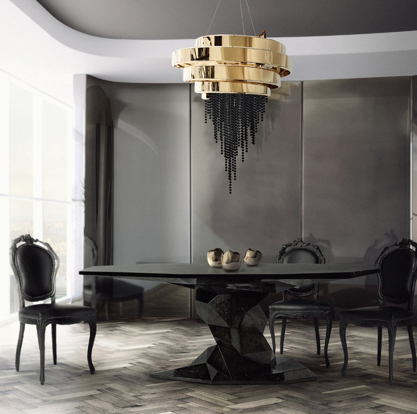 10 Outstanding Luxury Dining Tables for Your Dining Area