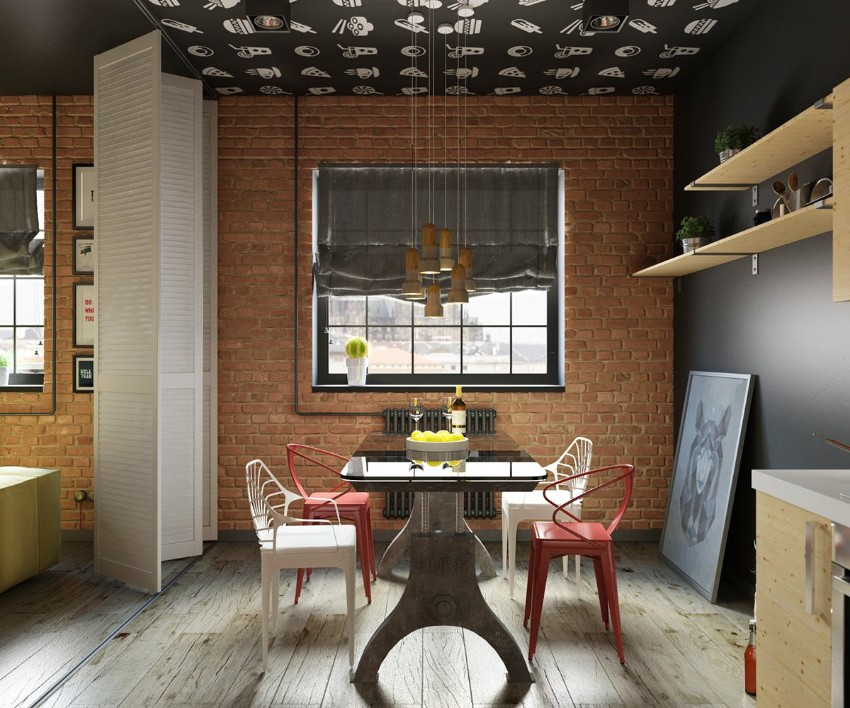 10 trendy industrial style dining rooms industrial style 10 Trendy Industrial Style Dining Rooms 3 10 trendy industrial style dining rooms