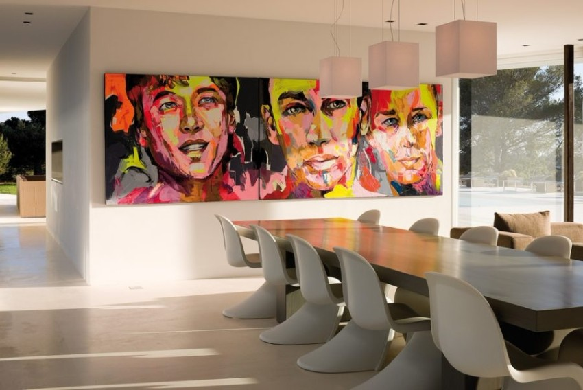 dining room Artwork That Makes All The Difference in your Dining Room 5 Artwork That Makes All The Difference in your Dining Room