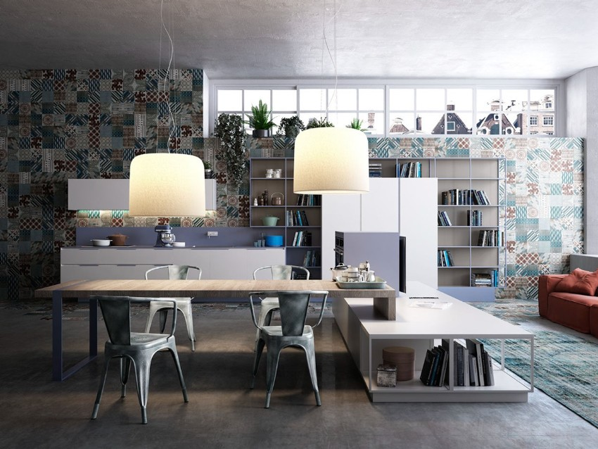 industrial style 10 Trendy Industrial Style Dining Rooms 7 10 trendy industrial style dining rooms