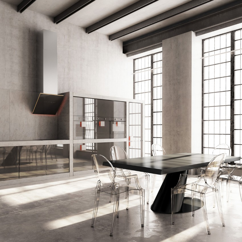 Industrial Home Design Spectacular Modern Industrial Home Designs That Stand Out From The: 10 Trendy Industrial Style Dining Rooms