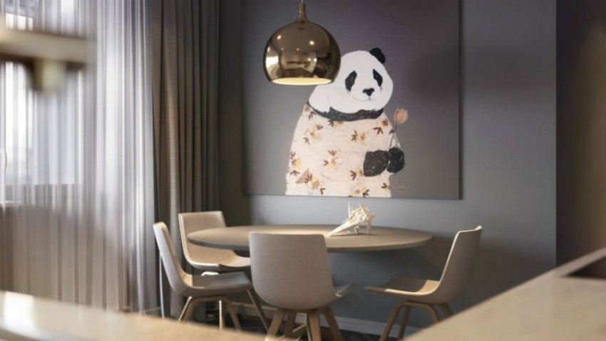 dining room Artwork That Makes All The Difference in your Dining Room 8 Artwork That Makes All The Difference in your Dining Room