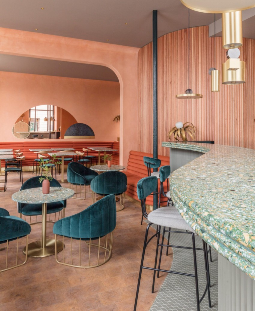 restaurant A Call To Luxury by Sella Concept For Omar's Place Restaurant A Call To Luxury by Sella Concept For Omars Place Restaurant 2