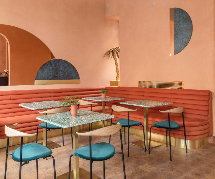 restaurant A Call To Luxury by Sella Concept For Omar's Place Restaurant A Call To Luxury by Sella Concept For Omars Place Restaurant 4