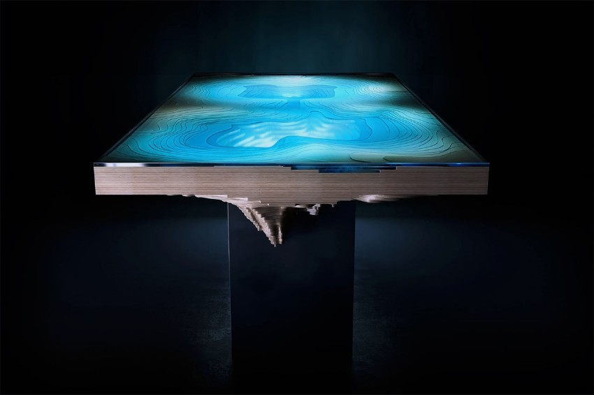 dining table Abyss Dining Table: Have Dinner In The Deep Sea Abyss Dining Table Have Dinner In The Deep Sea 0
