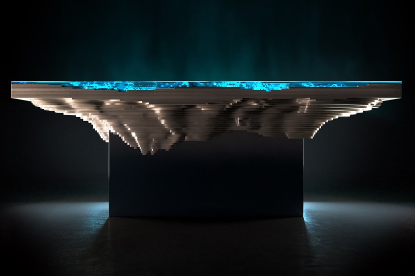 dining table Abyss Dining Table: Have Dinner In The Deep Sea Abyss Dining Table Have Dinner In The Deep Sea 2