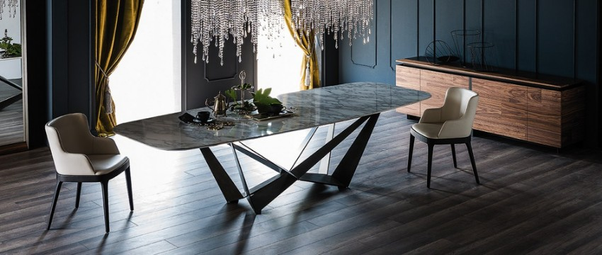 dining room tables Furnish Your Home With Everlasting Dining Room Tables Dark Dining Room Modern Ideas