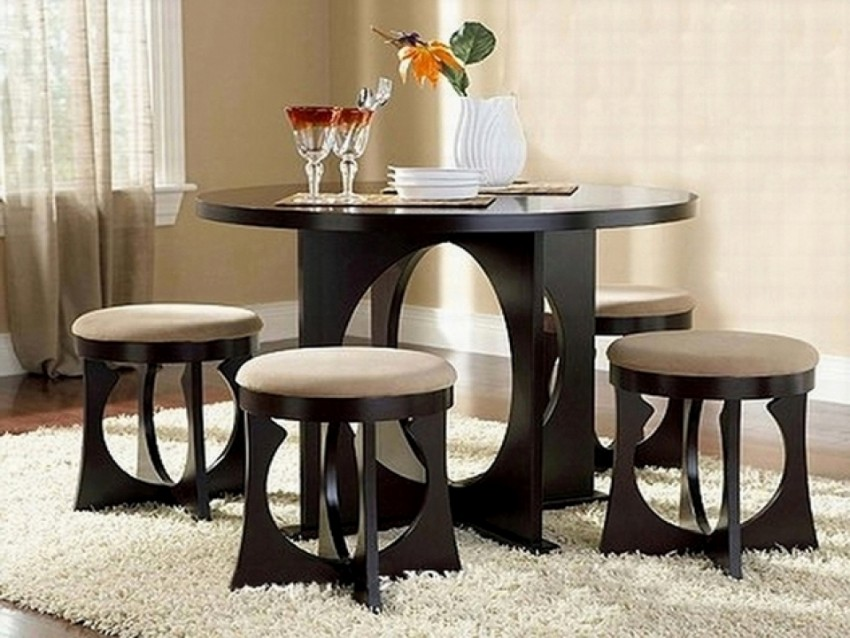 dining room tables Furnish Your Home With Everlasting Dining Room Tables Dark Dining Room Modern Ideas 6