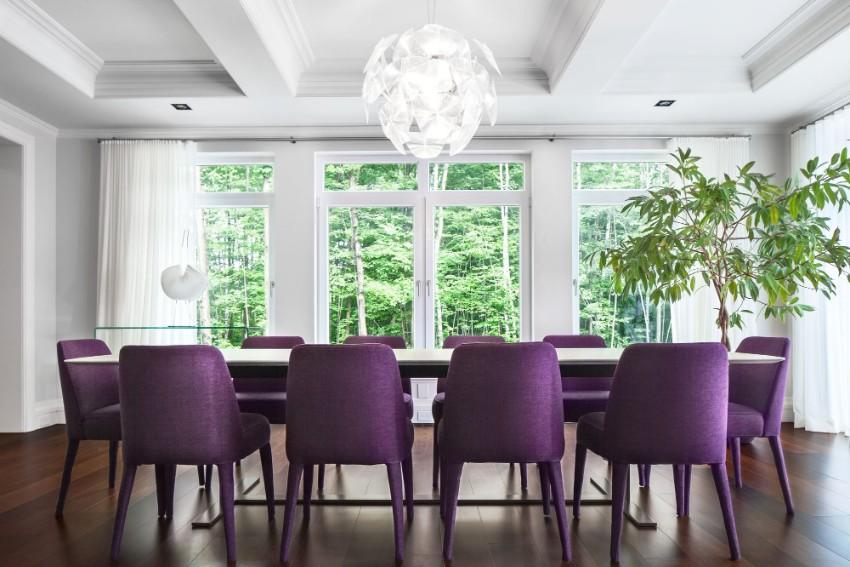 pantone Pantone's Ultra Violet: Decor Ideas For Your Dining Room Pantone   s Ultra Violet Decor Ideas For Your Dining Room 12