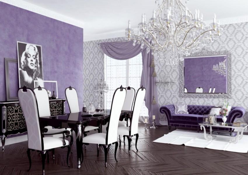 pantone Pantone's Ultra Violet: Decor Ideas For Your Dining Room Pantone   s Ultra Violet Decor Ideas For Your Dining Room 32