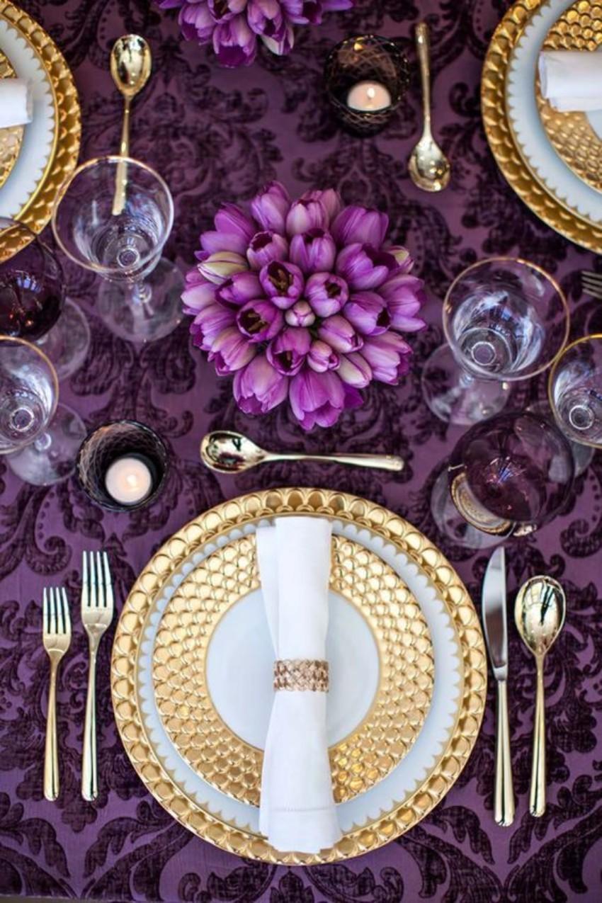 pantone Pantone's Ultra Violet: Decor Ideas For Your Dining Room Pantone   s Ultra Violet Decor Ideas For Your Dining Room 8