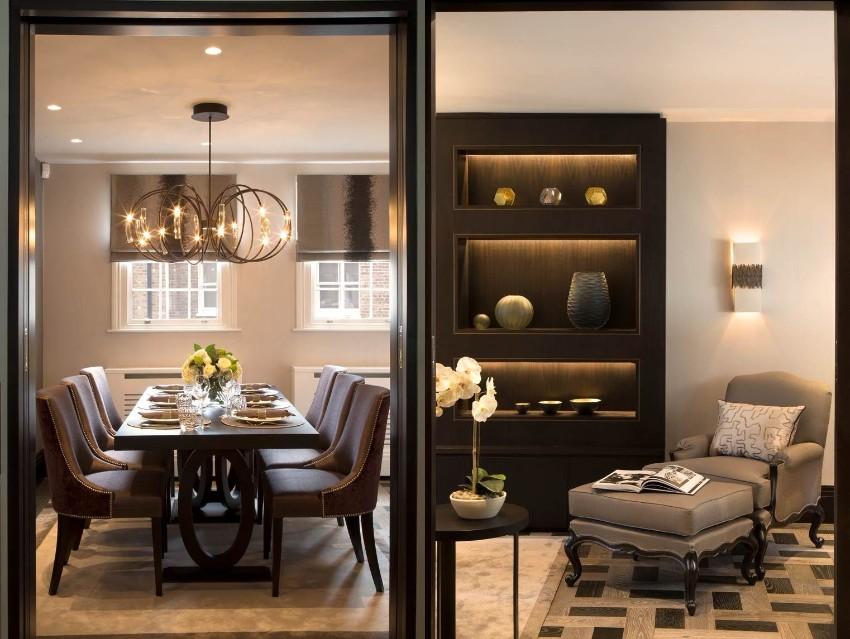 dining room The Best Dining Rooms by Harrods Interiors The Best Dining Rooms by Harrods Interiors 1