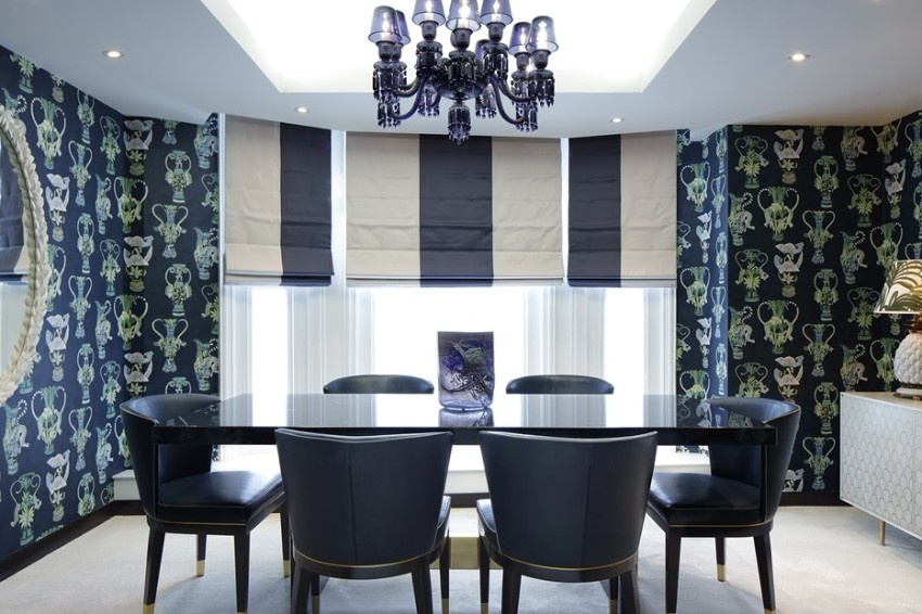 dining room The Best Dining Rooms by Harrods Interiors The Best Dining Rooms by Harrods Interiors 5