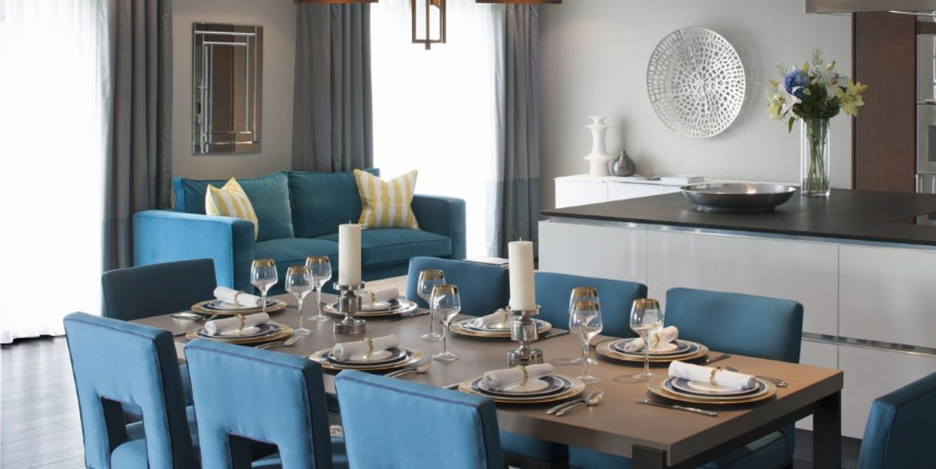 dining room The Best Dining Rooms by Harrods Interiors The Best Dining Rooms by Harrods Interiors 9