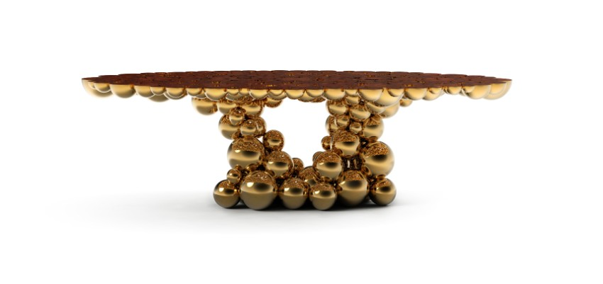Gold Dining Tables