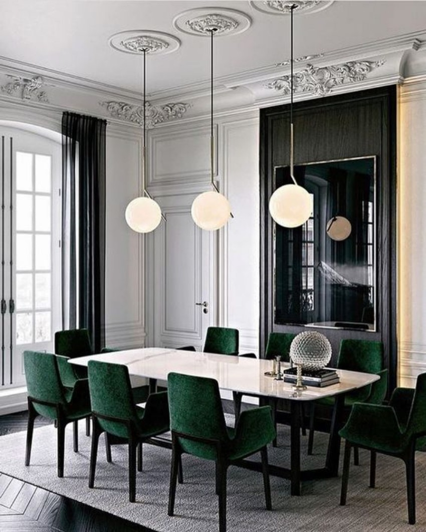 dining room ideas dining room ideas 10 Exclusive Dining Room Ideas For Your Modern Home dining room glass table modern dining room tables that are on trend