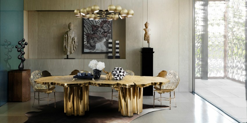 dining tables How To Impress Your Guests With These Luxury Dining Tables fortuna dining table by boca do lobo