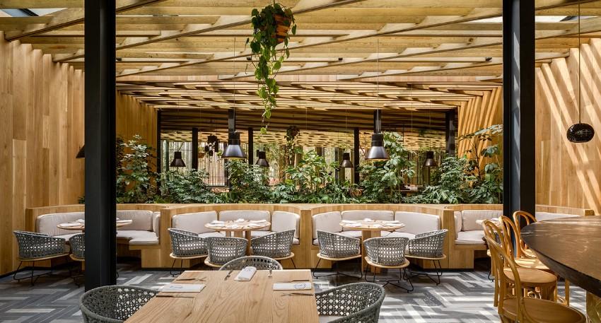 Piedra sal a modern restaurant in mexico city