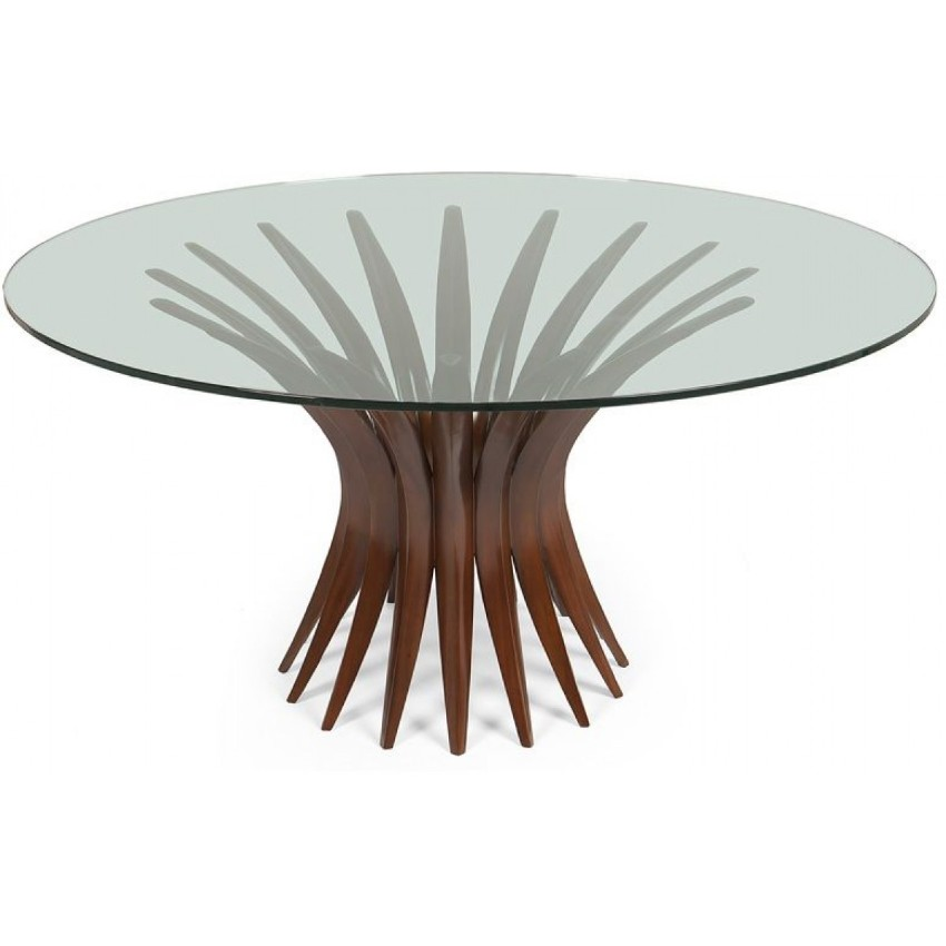glass dining tables Add Sophistication to your Meals With These Glass Dining Tables 3 Add sophistication to your dining room with these glass dining tables