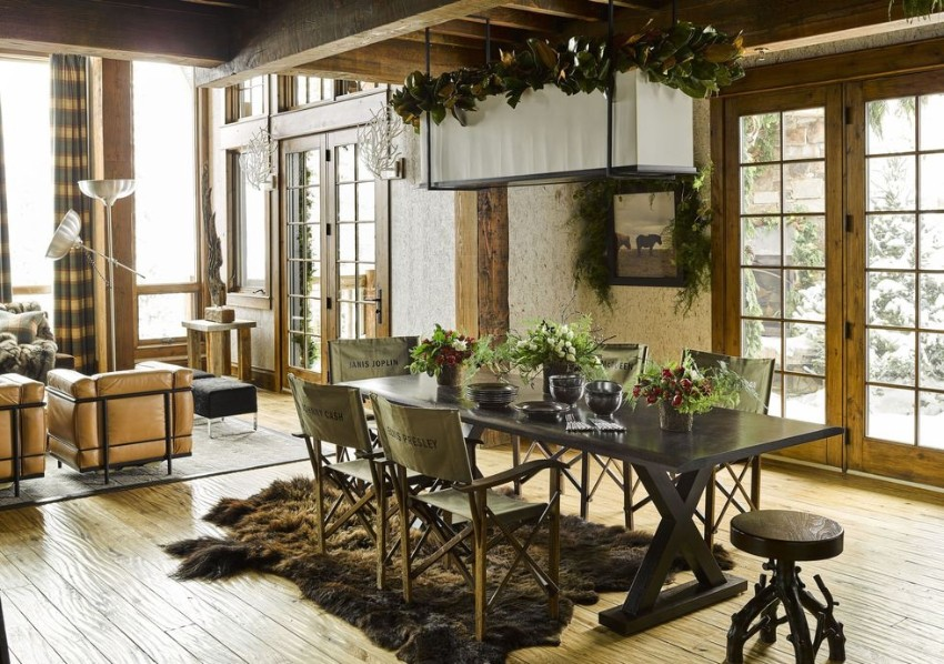 rustic dining rooms Rustic Dining Rooms Can Also be Sophisticated 7 Rustic Dining Rooms Can Also be Sophisticated 1