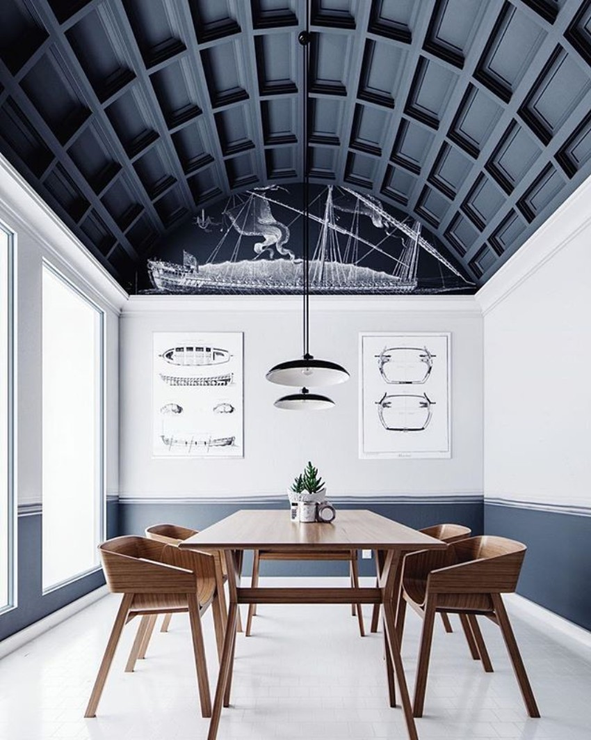 Creative Ceiling Design Ideas To Spice Up Any Dining Room