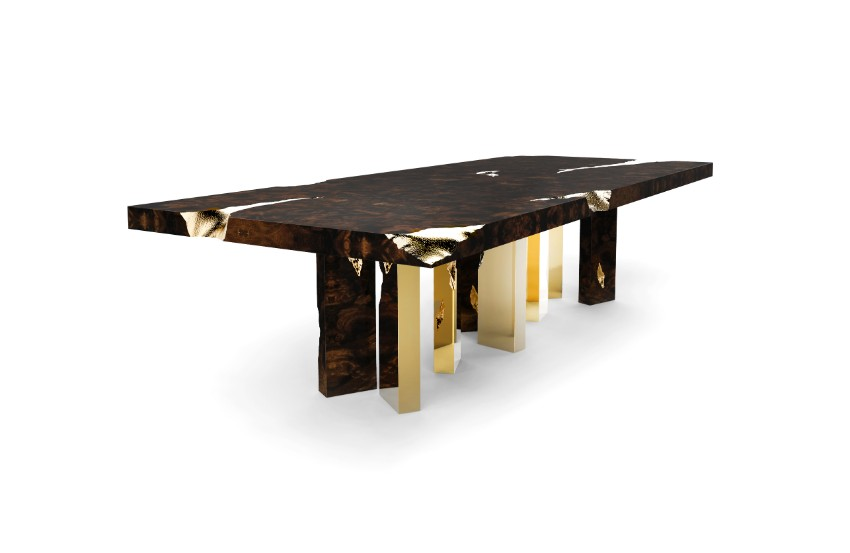 dining rooms Amazing Dining Rooms By Boca do Lobo Empire Dining Table by Boca do Lobo