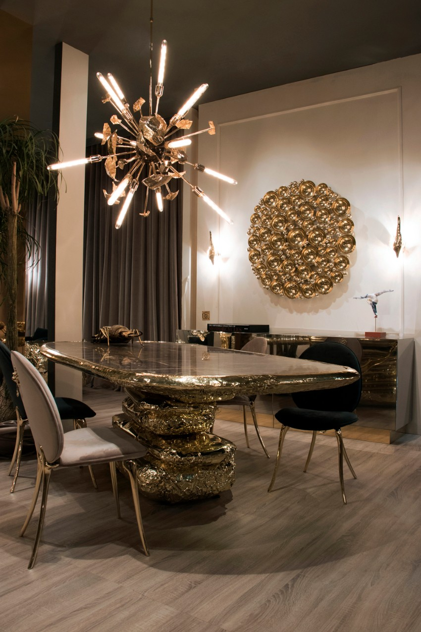Amazing Dining Rooms By Boca do Lobo dining rooms Amazing Dining Rooms By Boca do Lobo Isaloni Boca do Lobo