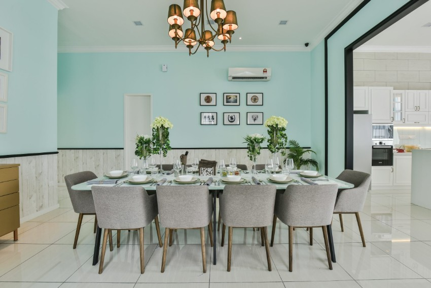 dining room Style Your Dining Room In Minty Green Shades Style Your Dining Room In Minty Green Shades 7