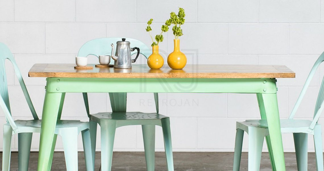 Style Your Dining Room In Minty Green Shades