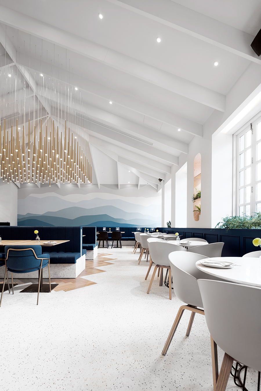 When An Old School Building Turns Into a Luxury Restaurant