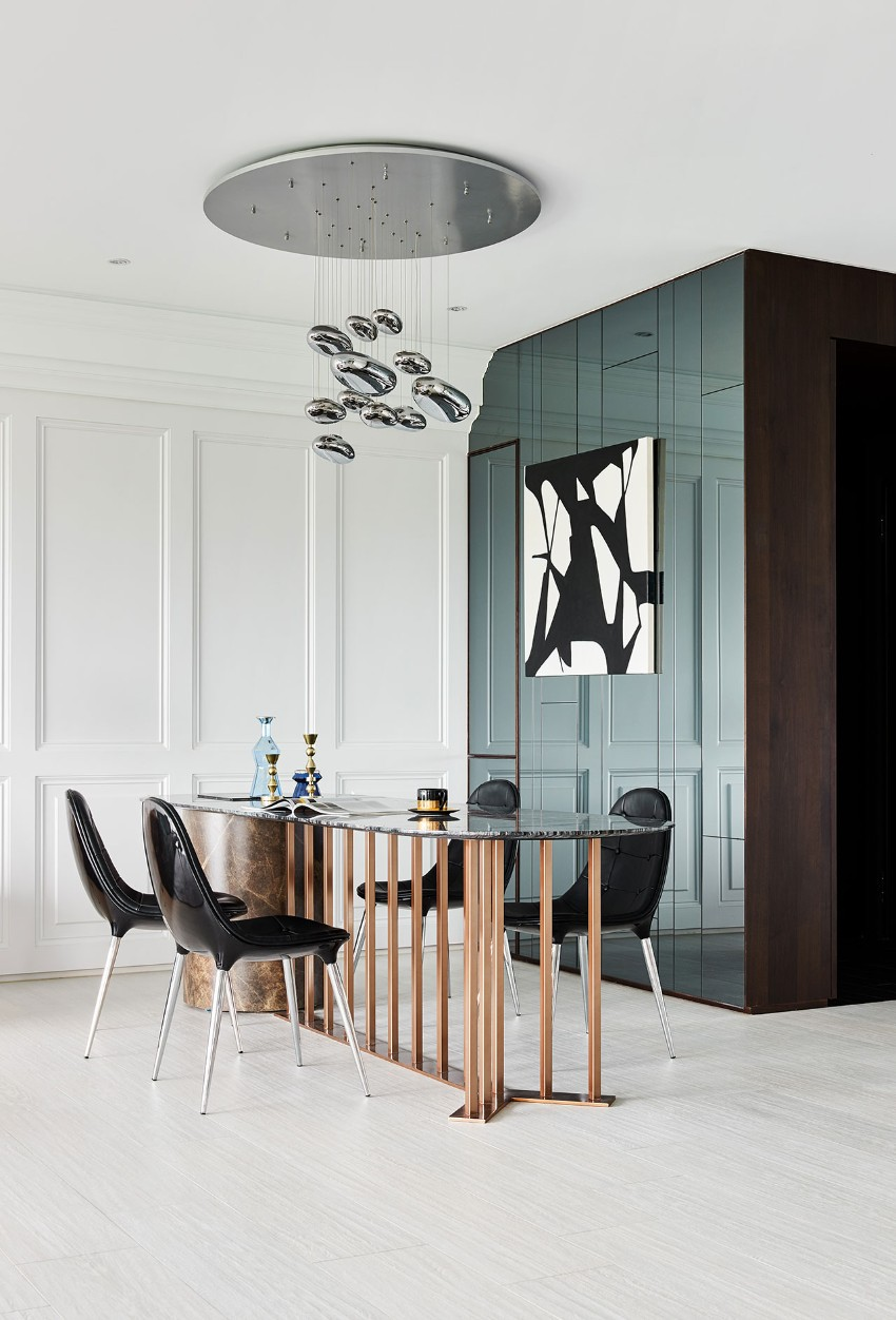 modern dining room A Modern Dining Room in Taiwan s2 scenic ballade hao design pingtung city taiwan yatzer 1