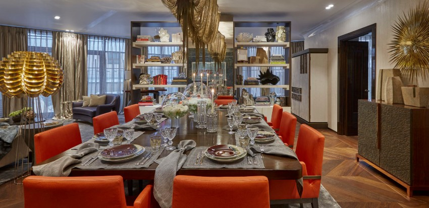 The Best Dining Room Projects by Fiona Barratt dining room The Best Dining Room Projects by Fiona Barratt 1 Project Moscow Russia