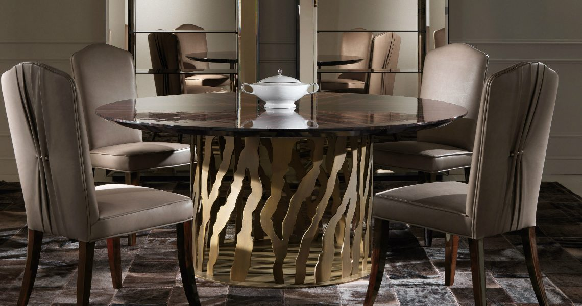10 Roberto Cavalli Dining Tables with the Best Design