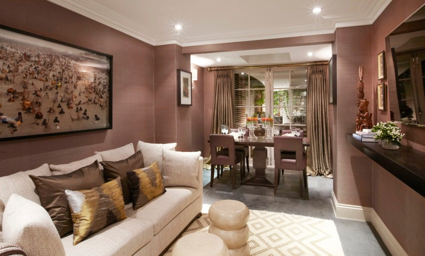 The Best Dining Room Projects by Fiona Barratt dining room The Best Dining Room Projects by Fiona Barratt 4 Project Knightsbridge London