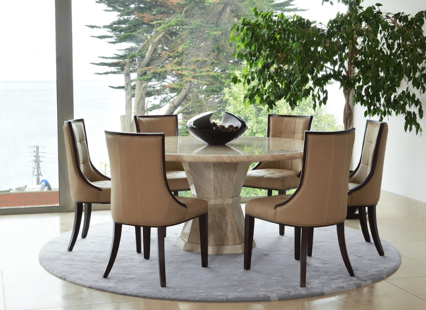 marble dining tables 10 Marble Dining Tables For A Glamorous Dining Room 6 10 Marble Dining Tables For A Glamorous Dining Room