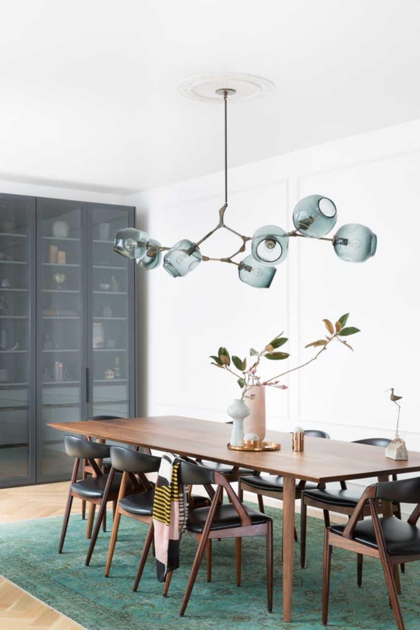 dining room Stunning Lighting Pieces for Your Dining Room 8 regan baker design